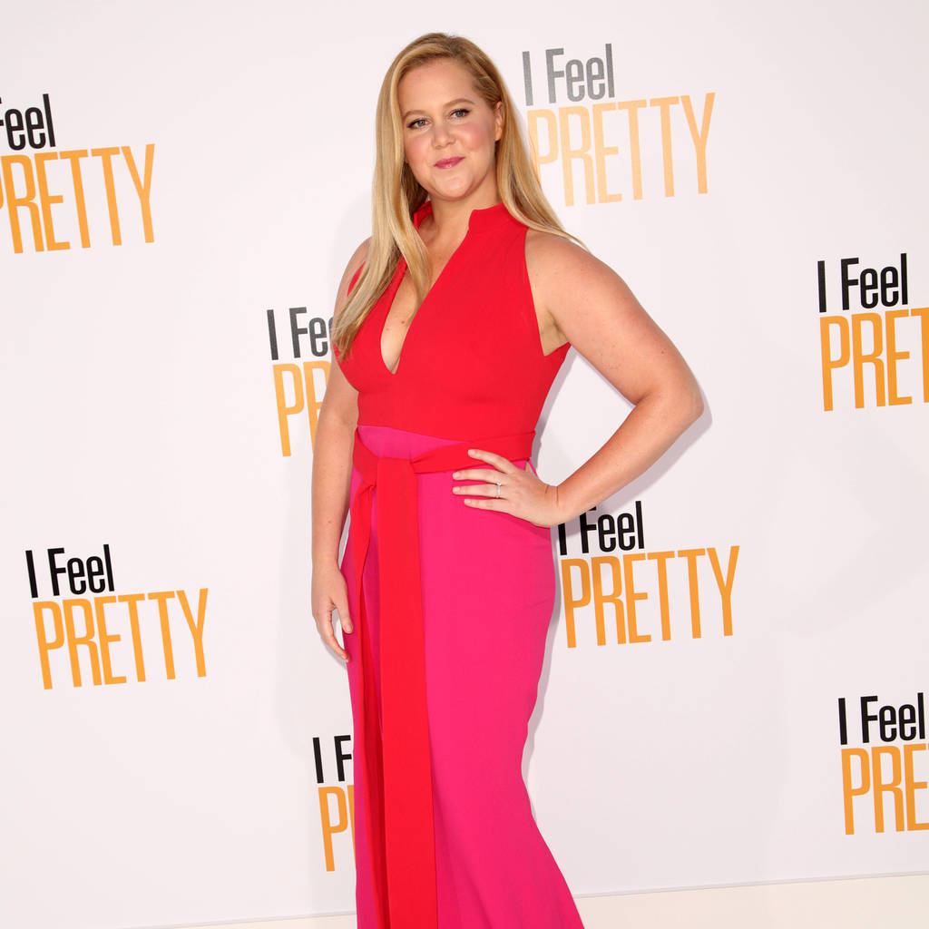 Amy Schumer stages surprise stand-up set at pal's concert