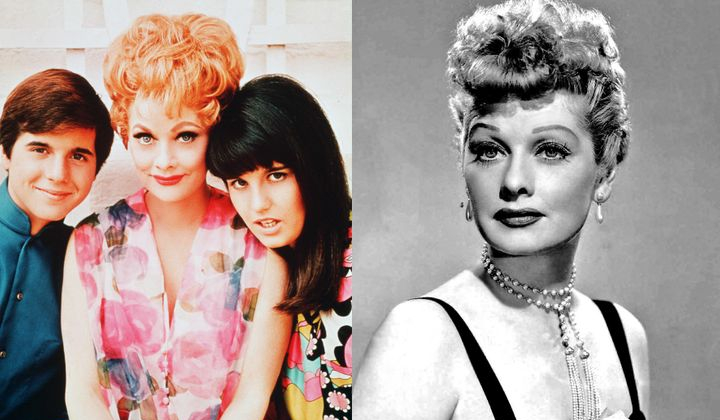 LUCILLE BALL AND HER STORY